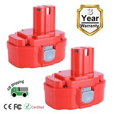 2 Pack New 18V 3.0AH NiCD Battery for Makita Tools 1822 1823 1833 1834 1835 PA18