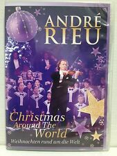 ANDRE RIEU ~ CHRISTMAS AROUND THE WORLD ~ DVD ~ ALMOST AS NEW ~ REGION 0