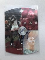 1998 Upper Deck SPX Michael Jordan Autograph With UD Sticker Rare Auto Bulls