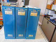 3 Binders Folders Guide Regulations The Sole 24 Hours 1994
