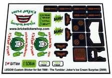 Replica Pre-cut Transp Sticker for 7888 Tumbler Joker's Ice Cream Surprise