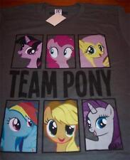 MY LITTLE PONY Ponies TEAM PONY T-shirt SMALL NEW w/ TAG