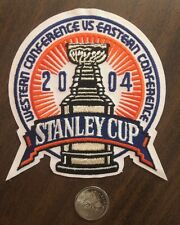 "NHL Stanley Cup Western vs Eastern Conference 2004 Sew On/Glue On 4.5"" x 4.5"""