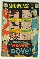 Showcase #75 GD/VG 1st Hawk and Dove 1968 DC Comics Steve Ditko Cover/Story
