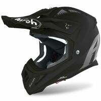 AIROH AVIATOR ACE BLACK MATT MOTOCROSS MX ENDURO MOTORCYCLE DIRT BIKE HELMET