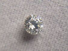 0.08 Ct Exclusive Real Natural Round Loose Diamond SI-1 Clarity / H Color