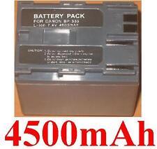 Batteria 4500mAh tipo BP-535 BP-535L Per Canon MV30i