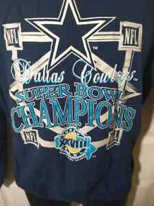 1994 Dallas Cowboys Super Bowl Champions XXVIII Sweat Shirt SZ XL USA Made