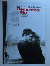 REMEMBER ME movie poster ROBERT PATTINSON poster 11 x 17 inches