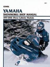 Clymer Yamaha Snowmobile Shop Manual 1997-2002 Three-cylinder Models, Paperba...