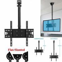 Ceiling TV Wall Mount Tilt Bracket Flat Screen Plasma LCD 32 37 40 42 47 50 55