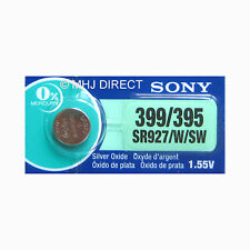 Genuine SONY 399 SR927W SR57 Watch Battery Silver Oxide 0% Mercury