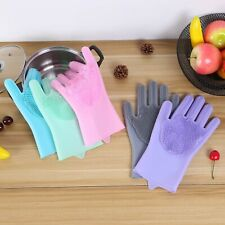 Dish Washing Gloves Kitchen Accessories Food Grade Vegetable Fruit  Cleaning