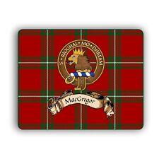 MacGregor Scottish Clan Tartan Crest Gaelic Motto Computer Mouse Mat