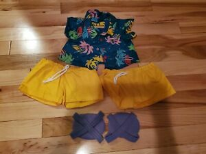 Worlds Of Wonder Teddy Ruxpin Summertime Outfit