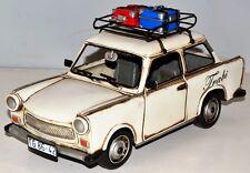 Trabant DDR Oldtimer Blechauto Blechmodell Tin Model Vintage Car ca. 29 cm 37406