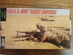 Dragon 1/35 US Army Desert Uniforms. Kit 9901.