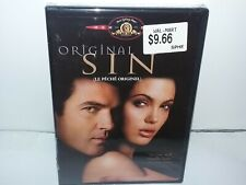 Original Sin (DVD, Canadian, Region 1, Wide & Fullscreen, Jolie, Banderas) NEW