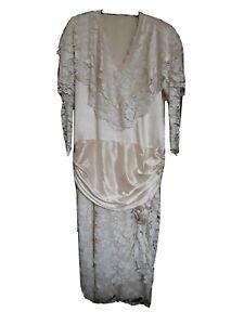 Vintage wedding dress size 12