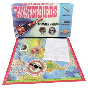 Thunderbirds Board Game - 2016 West 11 Group - Complete - ITC Entertainment