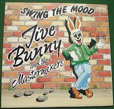 """Jive Bunny & The Mastermixers Swing the Mood 12"""" Single"""