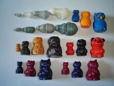 KINDER SURPRISE SET - NESTING TOYS ANIMALS WITH BABYS COLLECTION - FIGURES