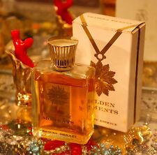 Vtg Frances Denney GOLDEN MOMENTS 2 oz Cologne Essence + BOX 50s/60s Perfume