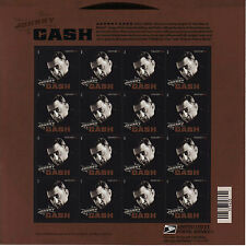 JOHNNY CASH STAMP SHEET -- USA #4789 FOREVER 2013