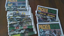 GREEN BAY PACKERS REPORT MAGAZINE PERIODICAL 2004 - 2005 NEWSPAPER COLLECTION
