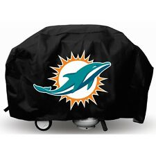 MIAMI DOLPHINS ECONOMY BARBEQUE BBQ GRILL COVER NFL FOOTBALL