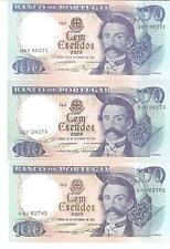 21210) PORTOGALLO POTUGAL 100 ESCUDOS DEL 1978 qFDS aUNC