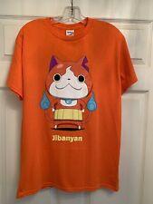 NEW Jibanyan Yo-Kai Watch 2015 Nintendo 3DS Orange Shirt Men's Medium
