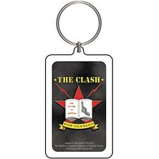 The Clash Know Your Rights lucite (plastic) Keyring    (cv)