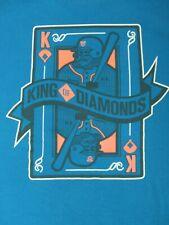 Under Armour King Of Hearts Baseball Player King Blue 2Xl T-Shirt B604