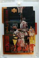 1999 99 MJ23 Upper Deck UD Michael Jordan Quantum Die Cut QMM3 #'d /2300 Bulls