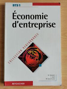 Economie d'entreprise - BTS 1 - 1998