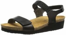 Hook and Loop Fasteners Low (3/4 in. to 1 1/2 in.) Wedge Casual Sandals & Flip Flops for Women