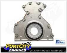 Genuine GM Rear Main Oil Seal Cover Assembly Chev V8 LS1 LS2 HSV VT VX VY VZ VE