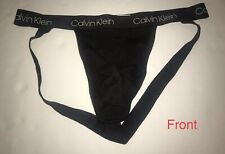 Calvin Klein Jock Strap Stretch Flexible Underwear (NP2230O), NWOT, Black, Large