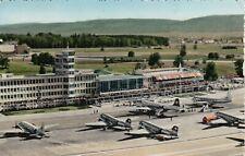 #368 - AK Schweiz - Flughafen Zürich Kloten - Fotokarte - 1954 gelaufen