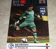 CARD ADRENALYN FIFA 365 CALCIATORI PANINI SHALKE 04 FAHRMANN CALCIO
