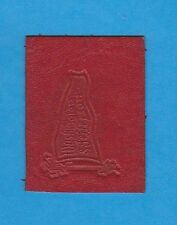 c1910s tobacco leather Washington & Jefferson College