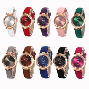 1pc Women FashionNewest diamond Stainless Steel Quartz Analog Wrist Watch Gift