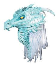Ártico Dragón Premiere Máscara Completa Látex Fantasy Criatura Beast Halloween