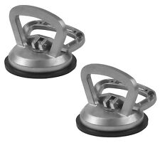2x Suction Cup Pad Aluminium Heavy Duty 40kg Glass Lifter Carry Car Dent Puller