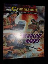 Commando (For Action and Adventure)  HEADLINE HARRY # 3541  | 2002 Edition