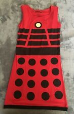 HER UNIVERSE DOCTOR WHO DALEK EXTERMINATE DRESS SIZE S BRAND NEW FREE SHIPPING