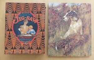 Vintage wooden jigsaw puzzle WIRE FOX TERRIER Arthur Wardle