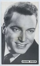 1960'S MUSIC SHOP PROMO CARD FRANK IFIELD COLUMBIA RECORDS ADELAIDE S. AUST L652