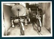 POST CARDS OF OLD MALAYSIA:  Trishaws - pollution free transportation